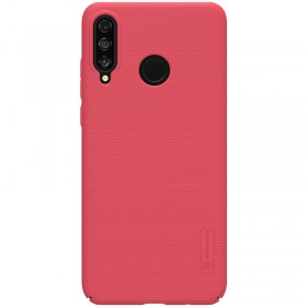 Nillkin Super Frosted Puzdro pre Huawei P30 Lite Red