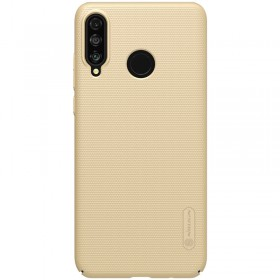 Nillkin Super Frosted Puzdro pre Huawei P30 Lite Gold