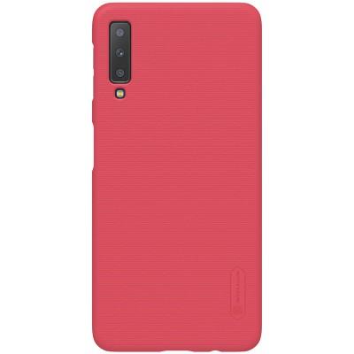 Nillkin Super Frosted Puzdro pre Samsung A750 Galaxy A7 2018 Red