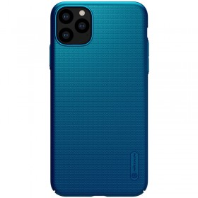 Nillkin Super Frosted Puzdro pre Apple iPhone 11 Pro Max Peacock Blue