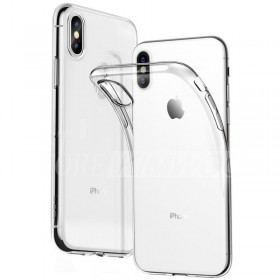 Tactical TPU Puzdro Transparent pre Apple iPhone XS Max