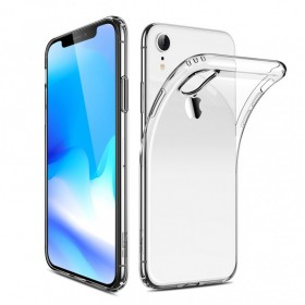 Kisswill TPU Puzdro Transparent pre Apple iPhone XR