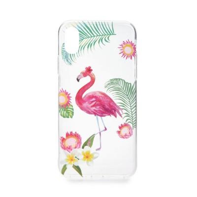 Puzdro Forcell Summer FLAMINGO / PLAMENIAK pre Samsung Galaxy S9