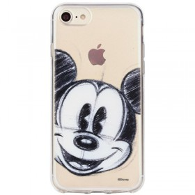 Silikónové puzdro Mickey Mouse pre Apple iPhone X / Xs