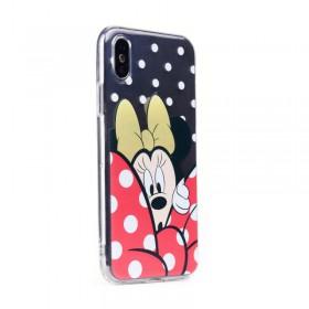 Silikónové puzdro Minnie Mouse pre Samsung Galaxy S9