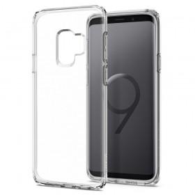 Kisswill TPU Puzdro Transparent pre Samsung Galaxy S9
