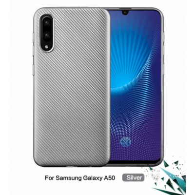 Puzdro pre  Samsung Galaxy A50 Silver