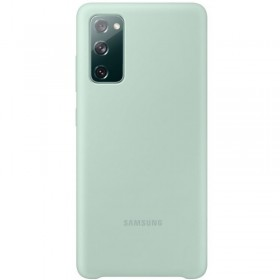 Samsung Silicone Cover pre Samsung Galaxy S20 FE Mint EF-PG780TME