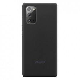Samsung Silicone Cover pre Samsung Galaxy Note 20 Black