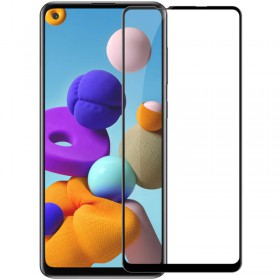 Mocolo 5D Tvrdené Sklo Black pre Samsung Galaxy A21/A21s