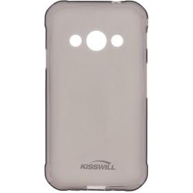 Kisswill TPU Puzdro pre Samsung Galaxy A40 Black