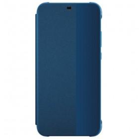 Huawei Original S-View Puzdro Blue pre Huawei P20 Lite