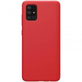 Nillkin Flex Pure Liquid Silikonové Puzdro pre Samsung Galaxy A71 Red