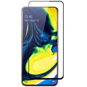 Mocolo 5D Tvrdené Sklo Black pre Samsung Galaxy A80