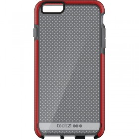 Tech21 Evo Mesh pre Apple iPhone 6/6s Smokey/Red