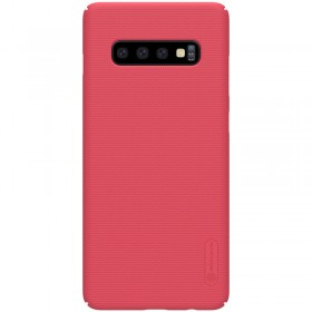 Nillkin Super Frosted Puzdro pre Samsung Galaxy S10 Red