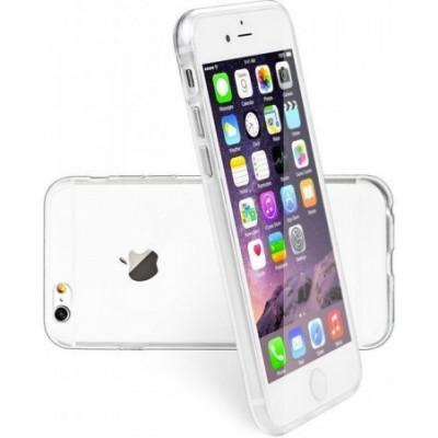 Puzdro SES Ultratenký silikonový kryt Apple iPhone 6/6S - priehľadné