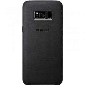 Samsung Alcantara Cover Dark Grey pre Samsung Galaxy S8+