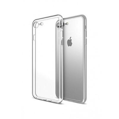 Puzdro SES Ultratenký silikonový kryt Apple iPhone 8 - priehľadné