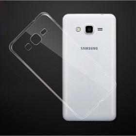 Puzdro SES Ultratenký silikonový kryt Samsung Galaxy J3 2016 - priehľadné