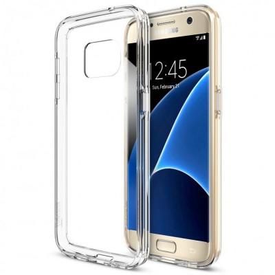 Puzdro SES Ultratenký silikonový kryt Samsung Galaxy S7 - priehľadné