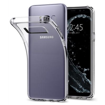Puzdro SES Ultratenký silikonový kryt Samsung Galaxy S8+ - priehľadné