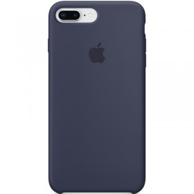 Apple Silikonové Puzdro Midnight Blue pre iPhone 7/8 Plus