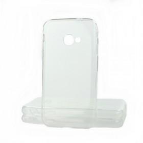 Ultratenké Silikonové Puzdro pre Samsung Galaxy Xcover 4 / G390 priehľadné