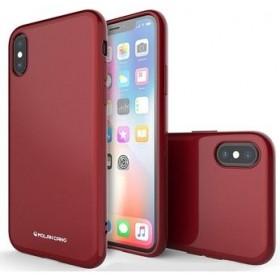 Molan Cano Jelly TPU Kryt pre Samsung Galaxy S10e Red