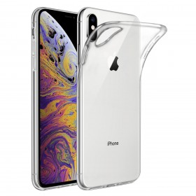 Kisswill Shock TPU Puzdro pre iPhone XS Max Transparent