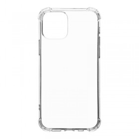 Tactical TPU Plyo Puzdro Transparent pre Apple iPhone 12/12 Pro Transparent