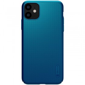 Nillkin Super Frosted Puzdro pre iPhone 11 Peacock Blue