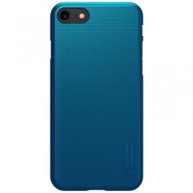 Nillkin Super Frosted Puzdro pre iPhone 7/8/SE 2020 Peacock Blue