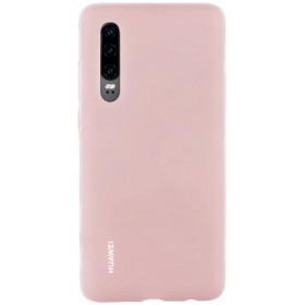 Huawei Original Silicone Car Puzdro Pink pre Huawei P30