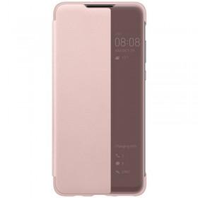 Huawei Original S-View Puzdro Pink pre Huawei P30 Lite