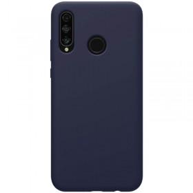 Nillkin Flex Pure Liquid Silikonové Puzdro pre Huawei P30 Lite Blue