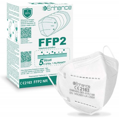 Enhance Respirátor FFP2 NR / KN95 50ks/bal