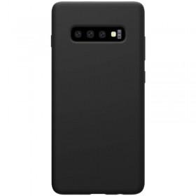 Nillkin Flex Pure Liquid Silikonové Puzdro pre Samsung Galaxy S10 Black