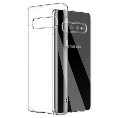 USAMS Primary TPU Puzdro Transparent pre Samsung Galaxy S10