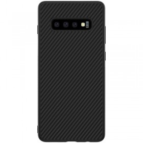 Nillkin Synthetic Fiber Puzdro Carbon Black pre Samsung Galaxy S10 Plus