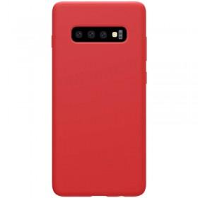 Nillkin Flex Pure Liquid Silikonové Puzdro pre Samsung Galaxy S10 Red