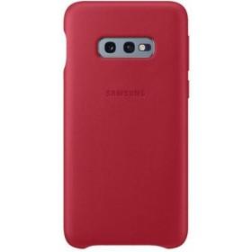 Samsung Leather Cover pre Samsung Galaxy S10e Red