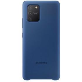 EF-PG770TLE Samsung Silikonové Puzdro pre Samsung Galaxy S10 Lite Blue