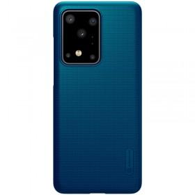 Nillkin Super Frosted Puzdro pre Samsung Galaxy S20 Ultra Peacock Blue